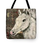 Behold A White Horse Tote Bag