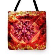 Behold The Jeweled Eye Of Blood Tote Bag