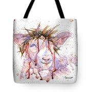 Behold The Lamb Tote Bag