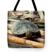 Behold The Turtle Tote Bag