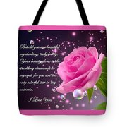 Behold You Are Beautiful Tote Bag