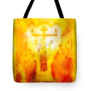 Beholding One With Elevation Tote Bag