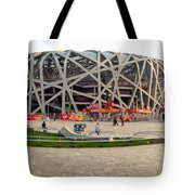 Beijing National Olympic Stadium Tote Bag