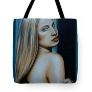 Being Emma, Nude Portrait Art Tote Bag