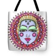 Bejeweled Blond Tote Bag