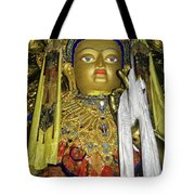 Bejeweled Buddha Tote Bag