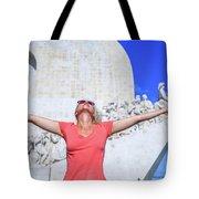 Belem District Lisbon Tote Bag