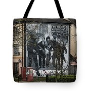 Belfast Mural - Civil Rights Association - Ireland Tote Bag
