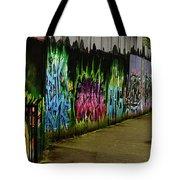 Belfast - Painted Wall - Ireland Tote Bag
