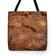 Belfast Petroglyph 6 Tote Bag