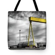 Belfast Shipyard 2 Tote Bag