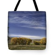 Belfry Fall Landscape 6 Tote Bag