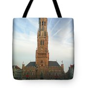 Belfry Of Bruges Tote Bag