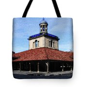 Belfry Of Revel City Tote Bag