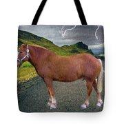 Belgian Horse Tote Bag