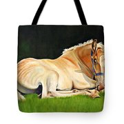 Belgian Horse Foal Tote Bag