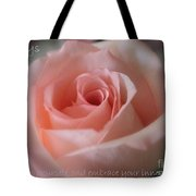 Believe In Yourself Card Or Poster Tote Bag