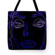 Belinda In Blue Tote Bag