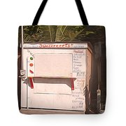 Belize - Sidewalk Breakfast Stand Tote Bag