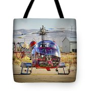 Bell 47 Tote Bag by Jim Thompson