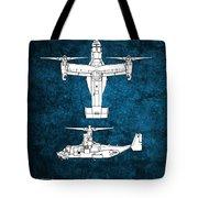 Bell Boeing V-22 Osprey Tote Bag
