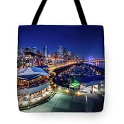 Bell Harbor Tote Bag