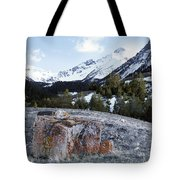 Bell Mountain Tote Bag