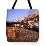 Bell Mountain Sunrise Tote Bag