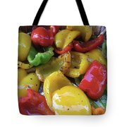 Bell Peppers Original Iphone Photo Tote Bag by Visual Artist Frank Bonilla