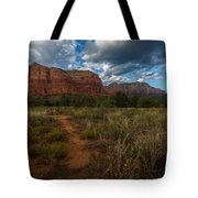 Courthouse Butte Sedona Arizona Tote Bag