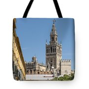 Bell Tower - Cathedral Of Seville - Seville Spain Tote Bag