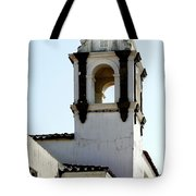 Bell Tower In Santa Cruz Tote Bag