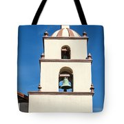 Bell Tower Mission San Buenaventura Tote Bag