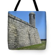 Bell Tower Of The Castillo Tote Bag