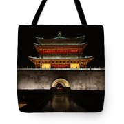 Bell Tower Of Xi'an Tote Bag