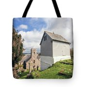 Bell Tower St Mylor Cornwall Tote Bag