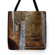 Bell Tower Stairs Tote Bag