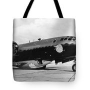 Bell X-1 Resting In Belly Of B-29, 1947 Tote Bag