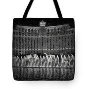 Bellagio Fountains Tote Bag