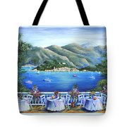 Bellagio From The Cafe Tote Bag