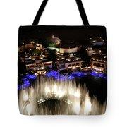 Bellagio Hotel Fountain Tote Bag