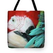 belle Ara Macao oiseaux tropicaux de Maui  Tote Bag