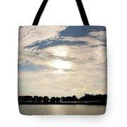 Belle Isle Lake Tote Bag