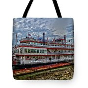 Belle Of Cincinnati Tote Bag
