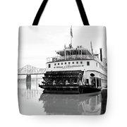 Belle Of Louisville Docked Tote Bag