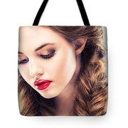 Belle Silk Tote Bag