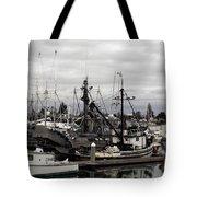 Bellingham Bay Ship Yard Tote Bag