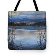 Bellingham In Winter Tote Bag