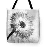 Bellis In Mono  #flower #flowers Tote Bag