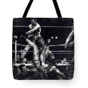 Bellows: Dempsey, 1924 Tote Bag
